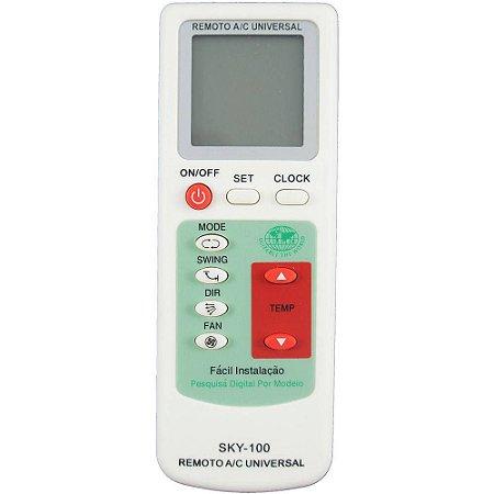 Controle Remoto Ar Condicionado Universal Serve99%das Marcas