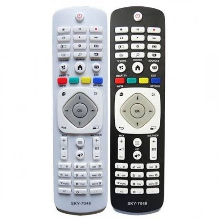 Controle Remoto Para Smart Tv Philips - Paralelo - Fbg-7048