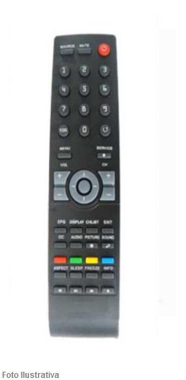 CONTROLE REMOTO TV LCD AOC 7406 / 8032