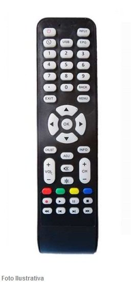 CONTROLE REMOTO TV LCD AOC 8014