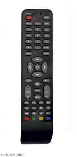 CONTROLE REMOTO TV LCD BUSTER 7053