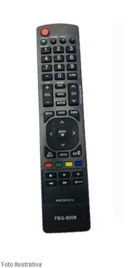 CONTROLE REMOTO TV LCD LG 8008