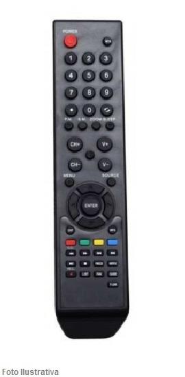CONTROLE REMOTO TV LCD PHILCO 7060
