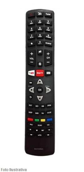 CONTROLE REMOTO TV LCD PHILCO SMART 8022
