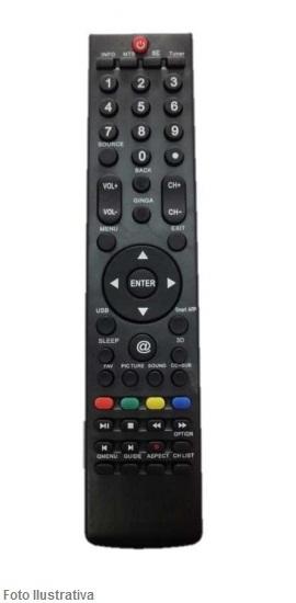 CONTROLE REMOTO TV LCD PHILCO 7505
