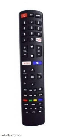 CONTROLE REMOTO TV SMART PHILCO NETFLIX E YOUTUBE 9027