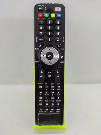 Controle remoto para receptor POP TV Gold Sat Linux 4k