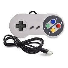 CONTROLE JOYSTICK USB super Nintendo