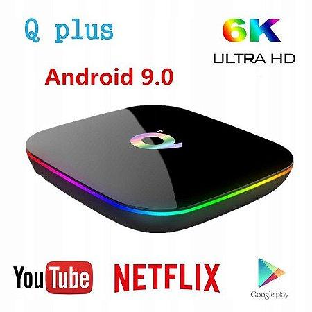 CONVERSOR SMART Q+ PLUS 4K 2GB RAM 16GB ALL WINNER H6 CORTEX-A53