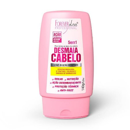Leave-in Desmaia Cabelo 5 em 1 140g Forever Liss