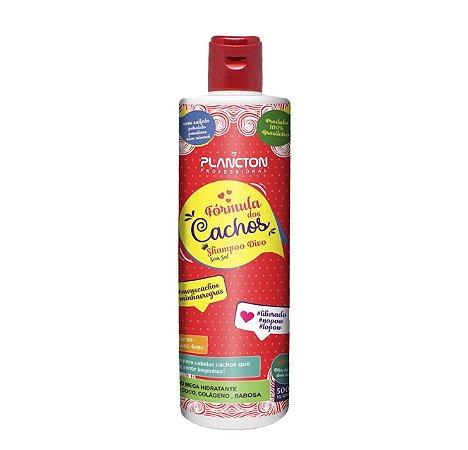 Fórmula dos Cachos - Shampoo Divo 500ml Plancton