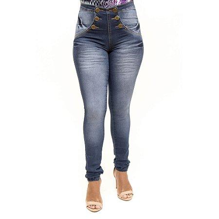 Calça Jeans Feminina Hot Pants Helix Levanta Bumbum