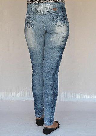Calça Jeans Helix Delavê com Elastano