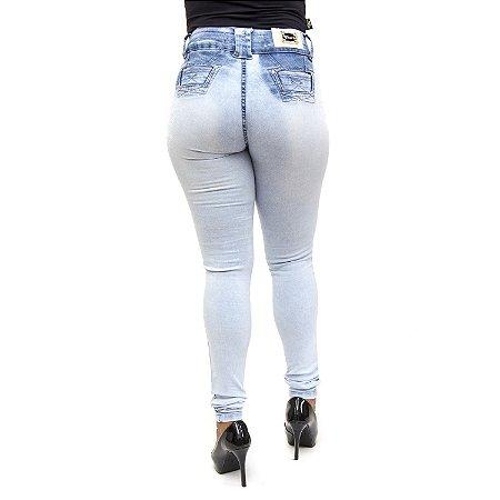 Calça Jeans Clara Feminina Cheris com Elastano