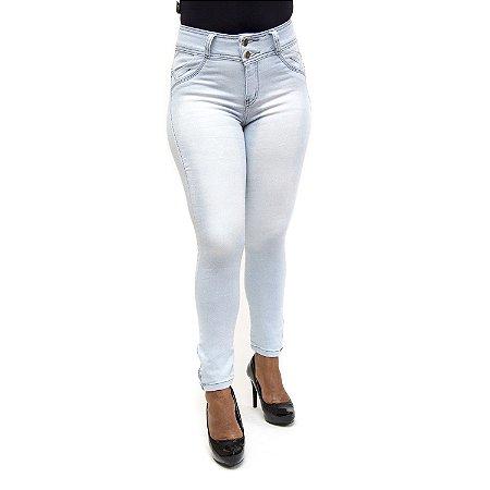 Calça Jeans Feminina Clara Delavê Meitrix com Elastano