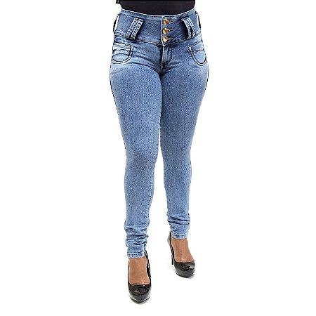 2f759f301 Calça Ri19 Jeans Feminina Azul Levanta Bumbum com Lycra - Andando no ...