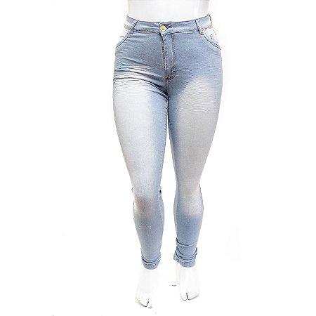 Calça Jeans Plus Size Feminina Hot Pants Clara Thomix