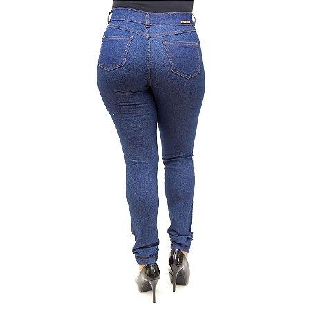 Calça Jeans Feminina Helix Azul Bic com Lycra