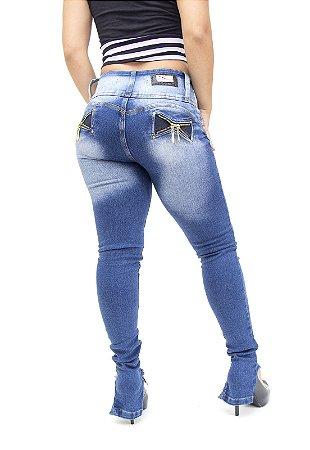 Calça Jeans Cheris Skinny Dagmar Azul