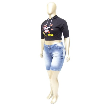 Bermuda Jeans Plus Size Clara MC2