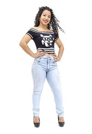 Calça Jeans Feminina Hot Pants Helix Angelina