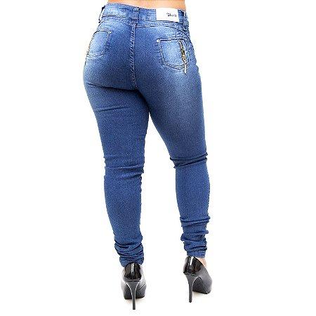 Calça Jeans Cheris Skinny Catrine Azul
