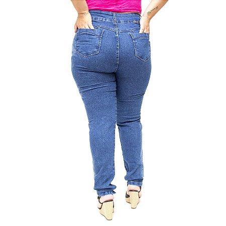 Calça Jeans Meitrix Plus Size Skinny Yanara Azul