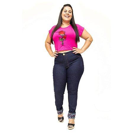 Calça Jeans Helix Plus Size Skinny Merian Azul