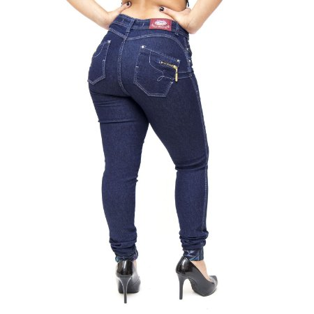 Calça Jeans Cheris Skinny Geiza Azul