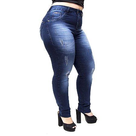 Calça Jeans MC2 Plus Size Skinny Marjahy Azul