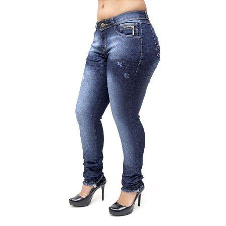 Calça Jeans Meitrix Skinny Kaoma Azul