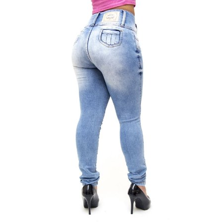 Calça Jeans Feminina Credencial Skinny Ilaine Azul