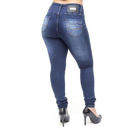 Calça Jeans Feminina Credencial Skinny Penellopy Azul