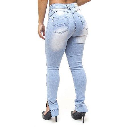 Calça Jeans Feminina Cheris Skinny Monielli Azul