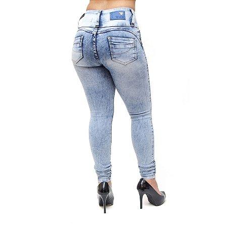Calça Jeans Feminina Cheris Skinny Mykaely Azul