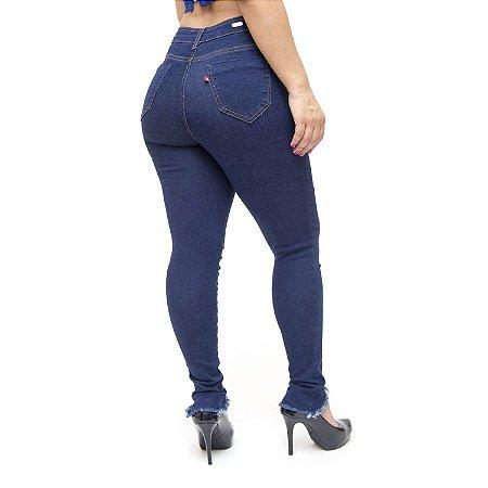 Calça Jeans Feminina Cambos Skinny Zila Azul