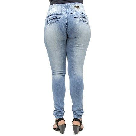 Calça Jeans Feminina Deerf Levanta Bumbum com Elastano