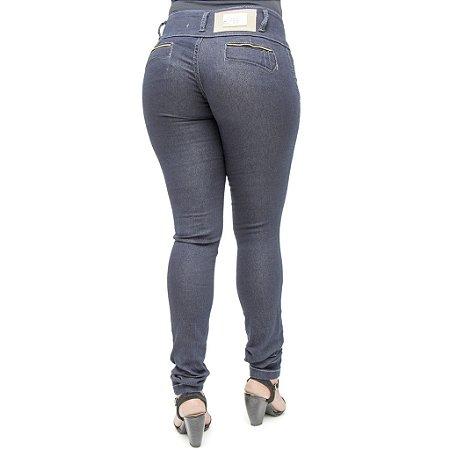 Calça Jeans Legging Bel Belita Azul Escuro Levanta Bumbum