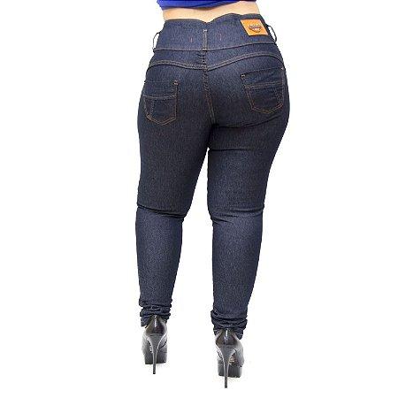 Calça Jeans Thomix Plus Size Skinny Hianca Azul