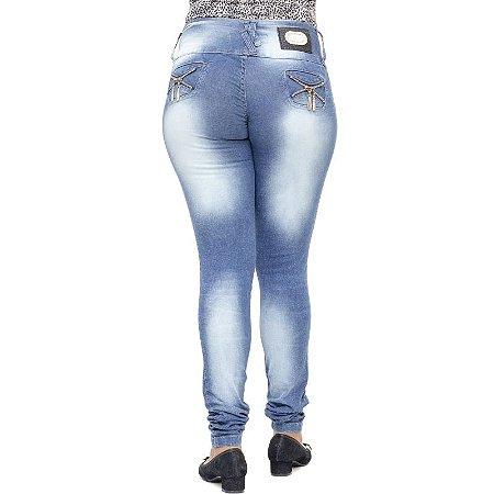 Calça Jeans Legging Deerf Levanta Bumbum
