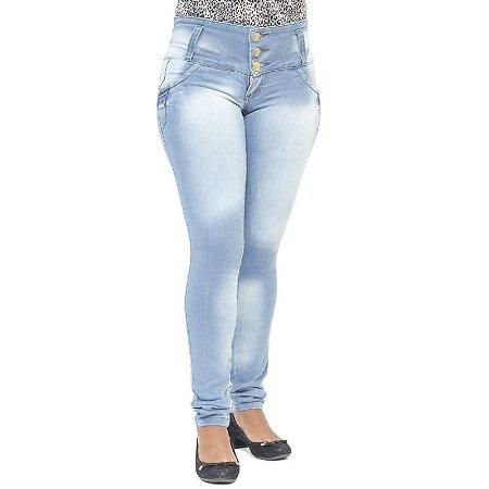 Calça Jeans Legging Feminina Hevox Clara Levanta Bumbum