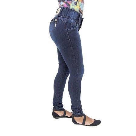 Calça Jeans Feminina Meitrix Escura Levanta Bumbum