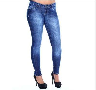 Calça Jeans Sawary com Strass