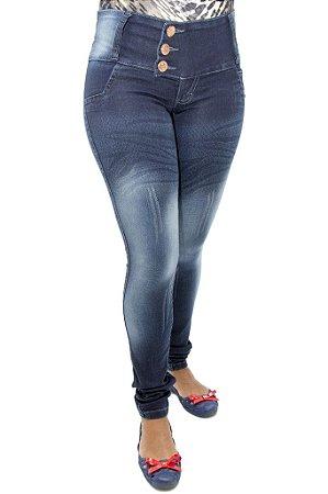 Calça Jeans Legging Feminina Helix Levanta Bumbum
