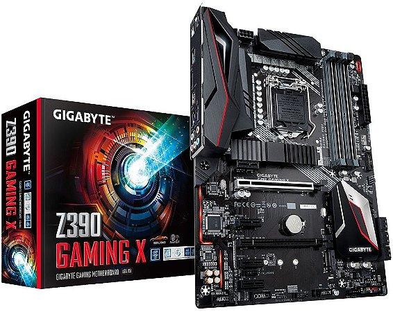 PLACA-MÃE GIGABYTE Z390 GAMING X INTEL CROSSFIRE LGA 1151 DDR4