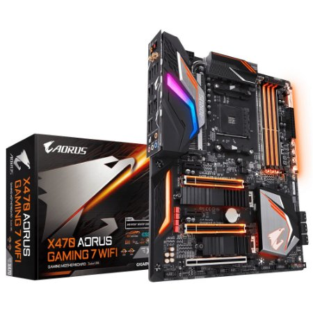 PLACA-MÃE GIGABYTE X470 AORUS GAMING 7 WIFI AMD AM4 DDR4