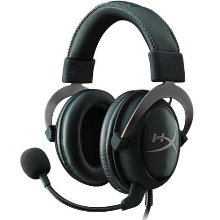 HEADSET HYPERX CLOUD II 7.1 PC PS4 XBOX MOBILE KHX-HSCP-GM