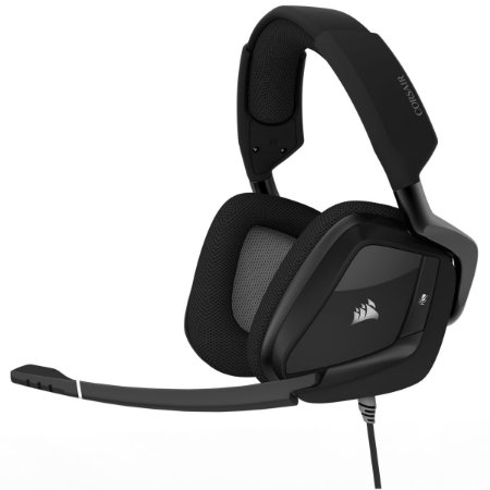 HEADSET GAMER CORSAIR VOID PRO RGB 7.1 CARBONO USB CA-9011154-NA