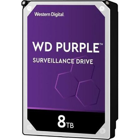HD WD PURPLE SURVEILLANCE DVR 8TB 128MB WD82PURZ