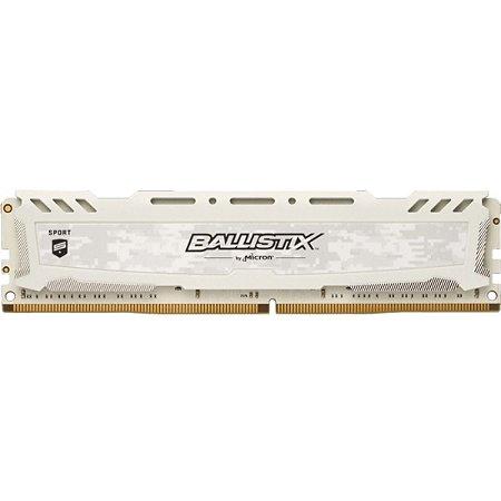 MEMÓRIA CRUCIAL BALLISTIX SPORT 4GB 2666MHZ DDR4 WHITE